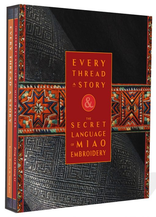 Every Thread a Story and Secret Language of Miao Embroidery Boxed Set