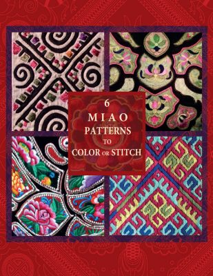6 Free Miao Patterns to Stitch or Color